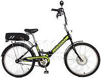 """Электровелосипед «SALUT» 24"""" 2409, складной (70 км на одном заряде)"""