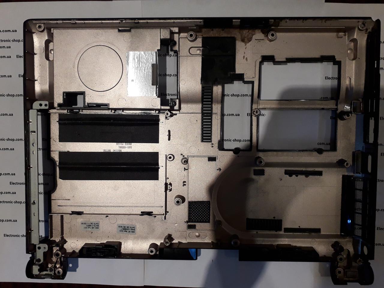 Нижняя  часть корпуса Samsung NP-R40Y  оригинал б.у