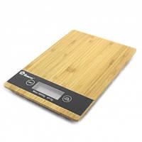 Кухонные весы дерево Домотек Германия  до 5 кг с батарейками