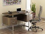 """Офисный стол с ящиками """"L-81 Нью"""" Loft Design, фото 2"""