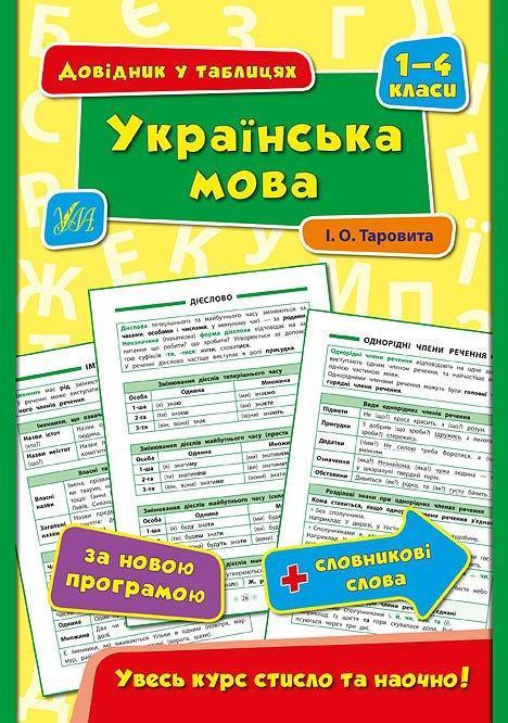 УЛА Довідник у таблицях Укр мова 1-4 клас
