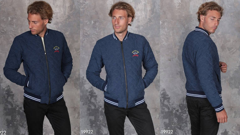 Куртка-парка мужская на молнии, фото 2