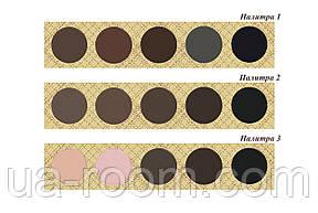 Палитра теней для глаз и бровей 5 цв. Relouis E039, фото 2