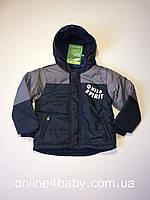 Зимняя детская куртка lupilu на мальчика 2-3 года, рост 98