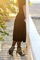 Шикарные остроносые ботинки на шпильке., фото 1