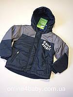 Зимняя детская куртка lupilu на мальчика 3-4 года, рост104