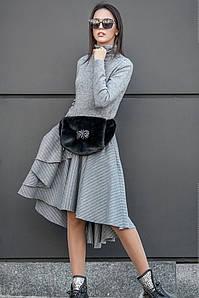 Асимметричное стильное платье