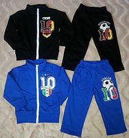 Спортивный костюм для мальчика размеры на рост от 68 до 86 см, детские спортивные костюмы, фото 1