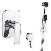 Набор Imprese PRAHA new (смеситель скрытого монтажа с гигиеническим душем)