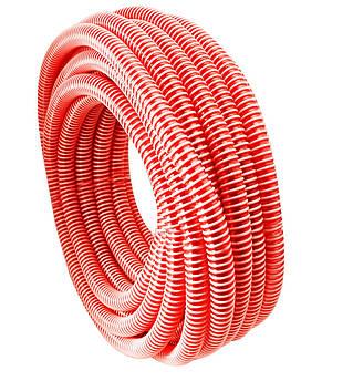 Шланг гофра напірна Evci Plastik червона діаметр 32 мм, довжина 25 м.