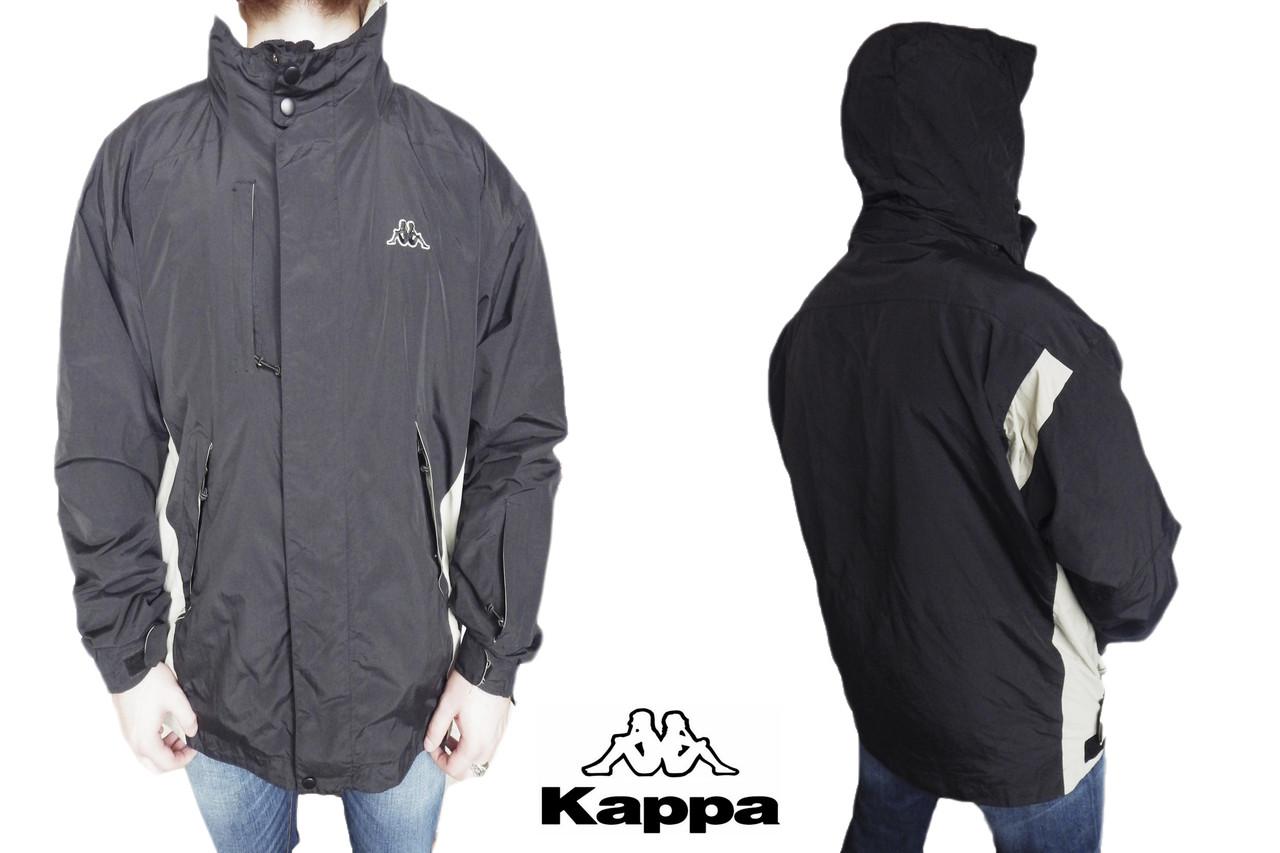 Мужская куртка ветровка Kappa  р-р XL (сток, б/у) Оригинал original