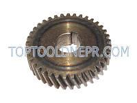 Шестерня для дисковой пилы Интерскол ДП-1600, ДП-1900, 49,5х14х11,5 37 зубов влево