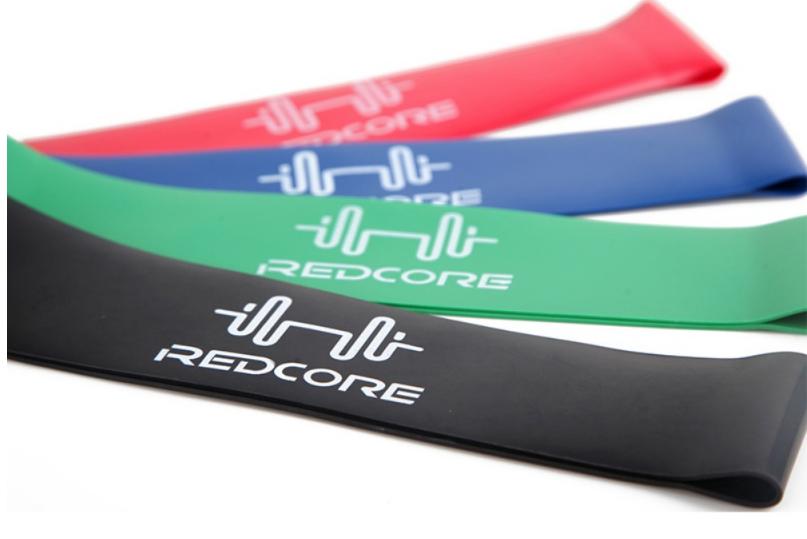 Резиновая лента для занятий спортом зеленая