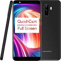 "Смартфон Leagoo M9 2/16Gb Black, 4 ядра, 8+2/5+2Мп, 5.5"" IPS, 2 SIM, 3G, 2850 мАч, фото 1"