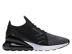 Мужские кроссовки Nike Air Max 270 Flyknit Black/White, Найк Аир Макс 270, фото 3
