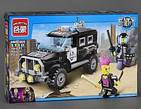 Конструктор BRICK Полицейский джип, 190 деталей. Игровой набор для мальчиков. СОБРАННЫЙ