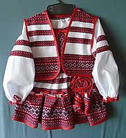 Костюм тканий - вишиванка   дівчинки 3-4 років