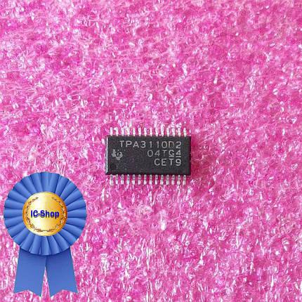 Микросхема TPA3110D2, фото 2