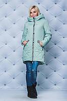 Стильная удлиненная куртка в расцветках, фото 1
