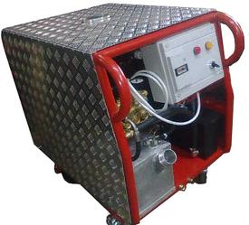 Апарат високого давления  с нагревом  АР ДН 1300/50 ИП М