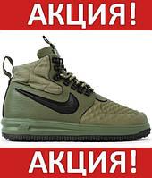 Зимние мужские кроссовки Nike Lunar Force 1 Duckboot '17 - Найк Лунар Форс 1 Дакбут