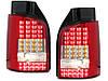 Стопы фонари тюнинг оптика Volkswagen T5 красные Led (Ляда), фото 3