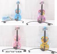 Скрипка, 4 вида, в пак. 25*9*3см (240шт/2)