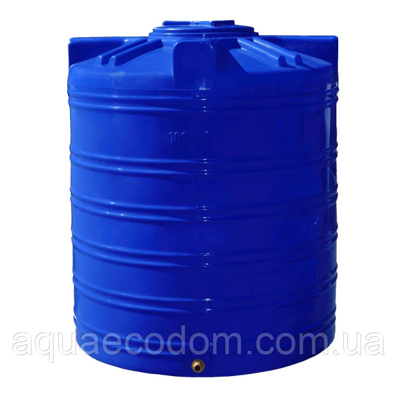 Емкость 1000 литров (вертикальная)..