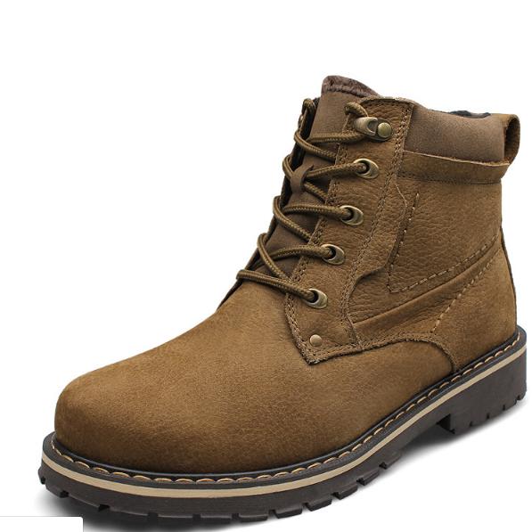 Мужские зимние ботинки. Модель 18161
