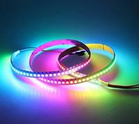 Светодиодная цифровая Smart LED лента SMD 5050-60 WS2812 RGB негерметичная IP20 5V