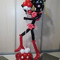 Мулатка, фигура из воздушных шаров