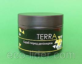 Скраб до депиляции, TERRA 300 мл