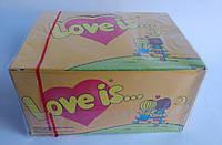 Love is жувальна гумка зі смаком кокоса і ананаса 100 шт