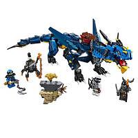 """Конструктор BELA Ninja (LEGO Ninjago) """"Вестник Бури"""" 528 деталей, 10936"""