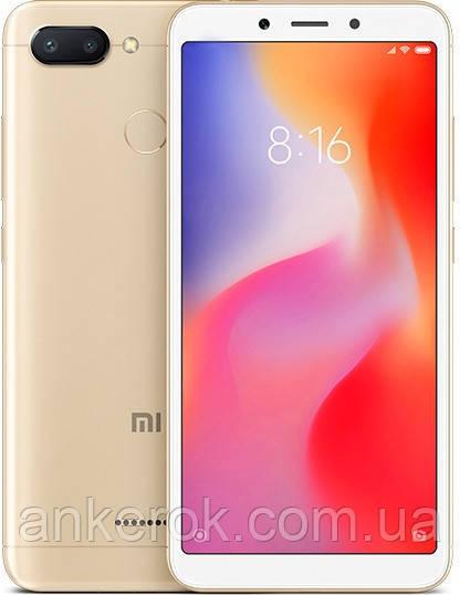 Смартфон Xiaomi Redmi 6 4/64Gb Global (Gold)