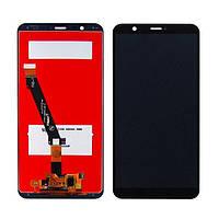 Экран HUAWEI P Smart + тачскрин (Модуль) черный оргинал (китай)