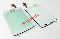 Тачскрин сенсор для Nokia C2-02 / C2-03 / C2-06 / C2-07 / C2-08 белый High Copy