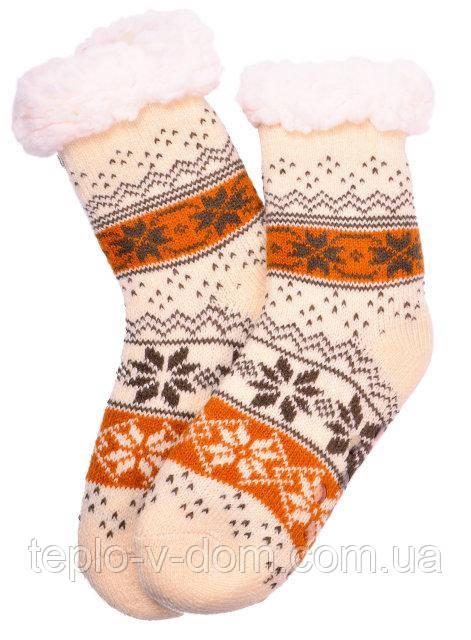Носки женские с флисом (12шт)