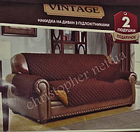 ПокрывалоТЕП на диван з двома подушками