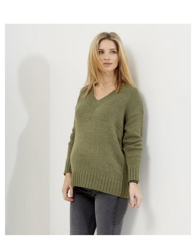 тёплый вязаный свитер для беременных New Look продажа цена в