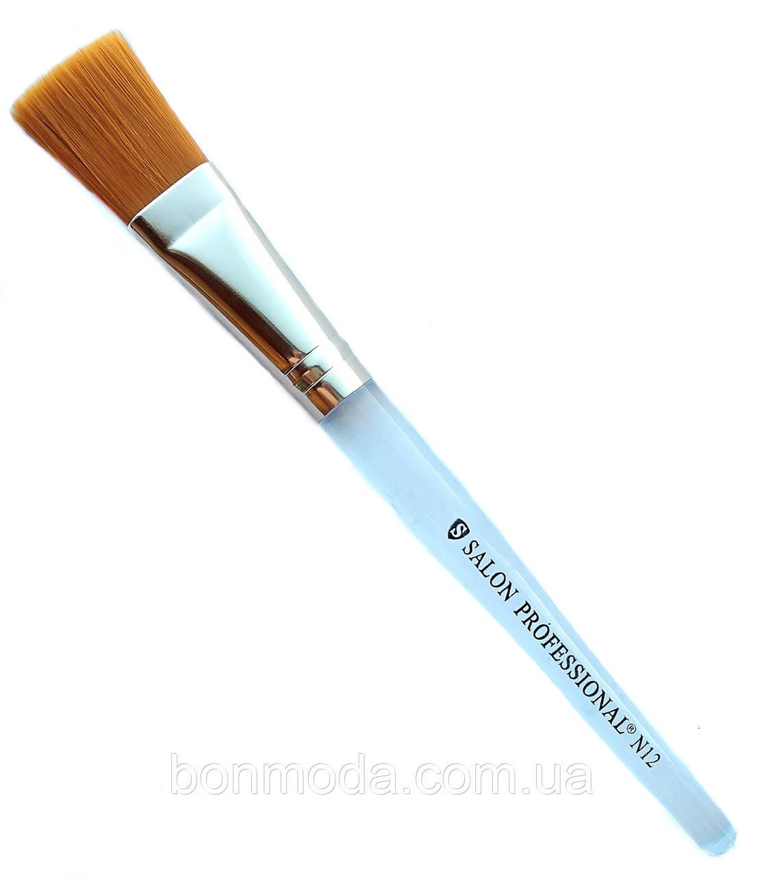 Кисть для нанесения жидких текстур Salon Professional № 12