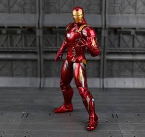 Фигурка игрушка Железный Человек Марк 46 Мстители, костюм броня, фото 2