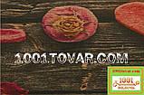 "Кухонный коврик из льна на резиновой основе ""Love"" 140х70х0,5 см., фото 2"