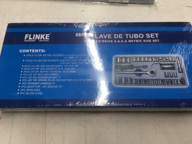 Набор торцевых ключей 40 предметов Flinke Socket Wrench Set (30см/15см). - фото 2