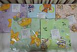 Комплект дитячої постільної білизни для новонародженого 3 в 1 бязь, фото 2