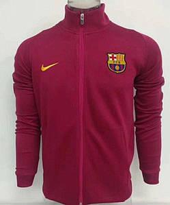 Футбольная олимпийка фк Барселона розовая