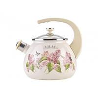 Чайник 2,5л Ветка сирени Lilac