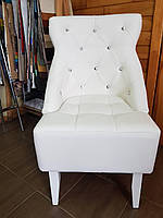 Кресло Граф Зевс Snow Delux White