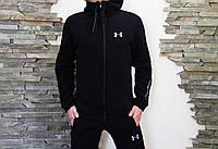 Спортивный костюм мужской черный зимний Under Armour