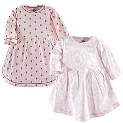 """Набор два платья 1/1,5/2 года """"Lace Garden"""" Yoga Sprout (США)"""
